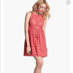 Free People Rocco Cutout Lace Dress